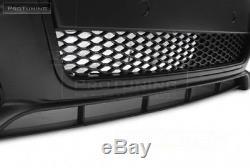 A4 B7 Complet Pare Choc avant Pdc Rs S-LINE Kit de Carrosserie Tuning Noir