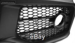 A4 B7 Complet Pare Choc avant Rs Style S-LINE Kit de Carrosserie Tuning Noir