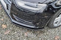 A4 B8 Pare-Choc avant Coupe Jupe Becquet Inférieur Menton Valance Séparateur
