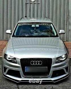 ABS Brillant Performance Séparateur pour Avant Pare-Choc Audi A4/S4 2008-2011