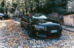 ABS Mat avant Pare-Choc Spoiler/Bague pour Audi A5/S5 07-11