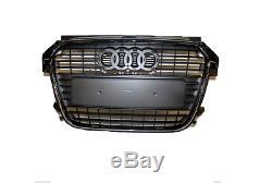 AUDI A1 Sportback 8X 2011- Calandre front pare-chocs Avant x1 noir NEUF