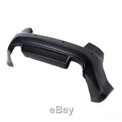 AUDI A4 RS4 B7 8EC SOUDE ORIGINAL Pare-chocs arrière Pare-chocs gris métallique