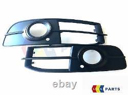 AUDI A6 C6 08-12 Neuf Véritable S LINE Avant Pare-Choc Feu Grille Set