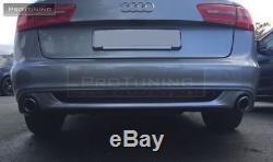 AUDI BERLINE A6 4G C7 11-15 arrière Pare chocs Diffuseur SPOILER S SLINE