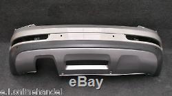 AUDI Q3 8U Facelift Pare-choc Pare-chocs Arrière LX1Y Cluveesilber métalliques