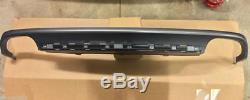 AUDI S6 4G C7 11-15 ORIGINAL arrière Pare chocs Diffuseur S-LINE double