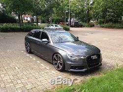 Acc S LINE Grille pour A6 Audi S6 4G C7 Ligne Pare Choc avant Calandre Noir