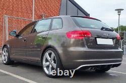 Arrière Pare Chocs Diffuseur pour Audi A3 8P 08-13 RS3 Tuning
