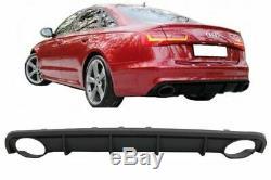 Arrière Se Pare-Choc Jupe RS6 Aspect Réflecteur pour Audi A6 C7 4G Limo Avant