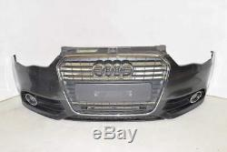 Audi A1 8X 10-14 Calandre pare-chocs avant phare antibrouillard LZ7S