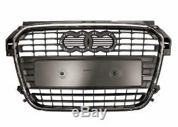 Audi A1 (8X) (2010-) GRILLE PARE CHOCS AVANT CENTRE CALANDRE Neuf TOP