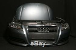 Audi A3 8P 1,9 Facelift Sportback avant Paquet Capot Phares Pare-Chocs