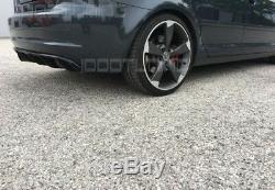 Audi A3 8P 8PA Facelift Diffuseur Arrière Rs 3 Spoiler pour Pare-Chocs