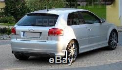 Audi A3 8P Tablier arrière S3 Look Approche poupe Lèvre de spoiler pare-chocs