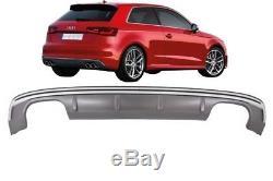 Audi A3 8V Hatchback Sportback 2012-2015 Pare-chocs arrière Valance diffuseur S3