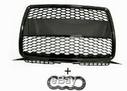 Audi A3 8p (03-08) Calandre Front Pare-chocs Noir