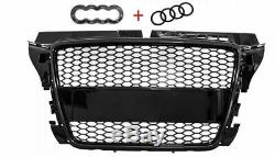 Audi A3 8p 2008-2012 Tuning Rs Look Calandre Front Pare-chocs Neuf