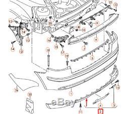 Audi A3 Sportback 8PA Arrière Pare Chocs Diffuseur Bordure 8P3807434G1RR Neuf