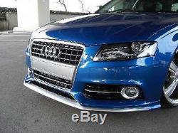 Audi A4 8K B8 Pare-Chocs avant Becquet Spoiler Aileron Mise au Point S-LINE S4