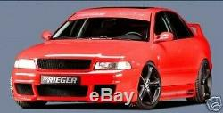 Audi A4 B5 1994-2001 Véritable Rieger avant Pare-Choc RS4 Abs-Plastic Neuf
