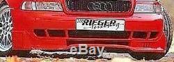 Audi A4 B5 1996-2001 Rieger Véritable OEM avant Pare-Choc Tasse Béquet Ajout New