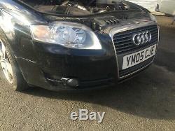 Audi A4 B7 04-08 avant Pare-Choc Phare Antibrouillard + Grilles Noir LY9B