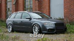 Audi A4 B7 04-08 avant Pare-Choc RS4 ABS Plastique Noir avec Grille Pdc
