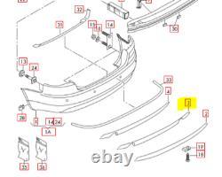Audi A4 B7 05-08 Pare-Chocs Inférieur Spoiler Jupe Double Échappement