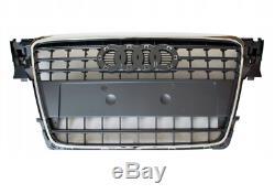 Audi A4 B8 2007-2011 CALANDRE FRONT PARE-CHOCS CHROME TOP