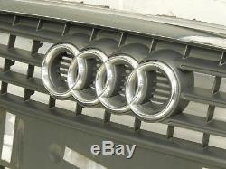 Audi A4 B8 Grille de Pare-Chocs avant Gris 8K0853651