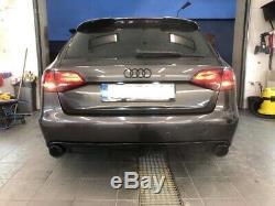 Audi A4 B8 Prefacelift Arrière Se Diffuseur Pare-Chocs RS4 Style Cun Spoiler
