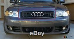 Audi A4 S4 B6 00-05 Neuf D'Origine Pare Choc avant Grille Supérieure Noir
