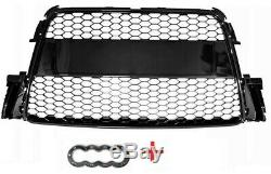 Audi A5 (2007-2011) Calandre Front Pare-chocs Noir