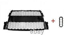 Audi A5 (2007-2011) Calandre Front Pare-chocs Noir Top