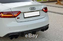 Audi A5 8t S-line (2012 2016) Jupe Arriere / Diffuseur / Rajout De Pare Choc