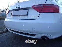 Audi A5 B8 Cabriolet Vfl Diffuseur Arrière S-LINE Aspect Standard Pare-Chocs