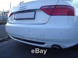 Audi A5 B8 Cabriolet Vfl Diffuseur Arrière S-LINE Look pour la Norme Pare-Chocs