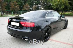 Audi A5 Coupe 8t 8f (2007-2011) Jupe Arriere / Diffuseur / Rajout De Pare Choc