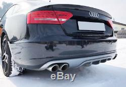 Audi A5 Sportback (2009 2011) Jupe Arriere / Rajout De Pare Choc
