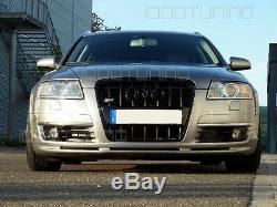 Audi A6 C6 4F Pare-Chocs avant Becquet S-LINE S LIGNE Spoiler Aileron S6 RS6