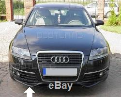 Audi A6 C6 4F Pare-Chocs avant Becquet Spoiler Aileron Mise au Point