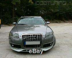 Audi A6 C6 4F Pare-Chocs avant Becquet Spoiler Aileron Mise au Point S6 RS6