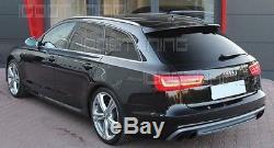 Audi A6 C7 4G Avant VFL Duplex Diffuseur S6 Look pour la norme Pare-chocs