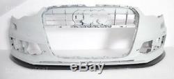 Audi A6 C7 4G Pare-Chocs avant Becquet Spoiler Aileron pour S-LINE