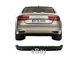 Audi A8 4H 10 -17 W12 Aspect Set Arrière Pare Chocs Diffuseur Jupe Échappement