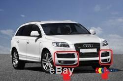 Audi Neuf D'Origine Q7 4L Pare Choc avant Latéral Grille Jeu de 4 Pièces