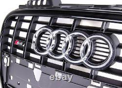 Audi Original A4 B7 8E 2004-2008 S LINE S4 Avant Pare-Choc Logo Grille Chrom