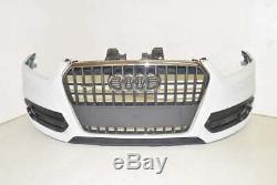 Audi Q3 8U 11-15 Calandre de pare-chocs avant + phares antibrouillard + aileron