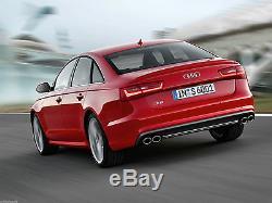 Audi S6 4g C7 11-15 OE Pare-Choc Arrière Diffuseur S-Line Double Échappement A6